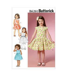 Butterick Child Dress-B6201
