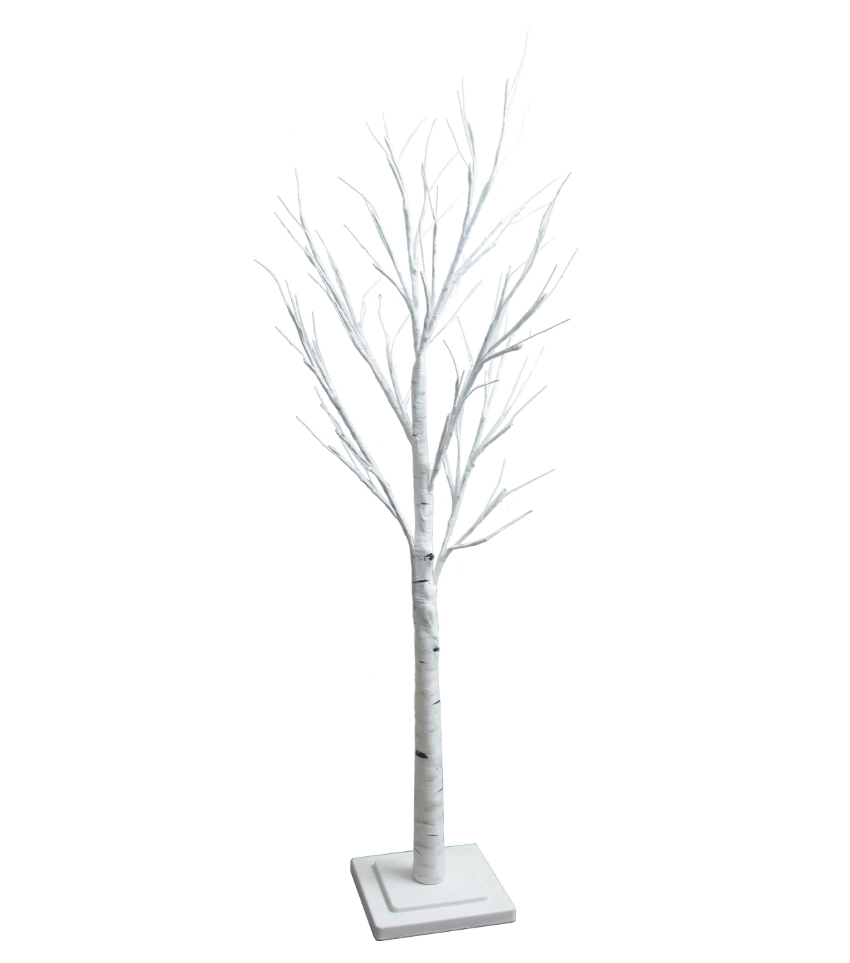 Maker's Holiday 4' Pre-Lit White Birch Artificial Tree