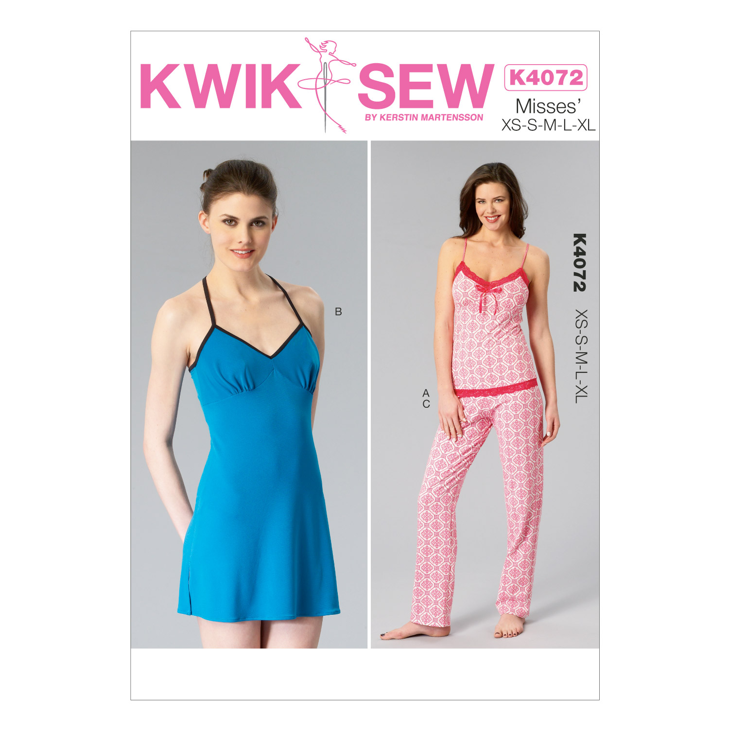Kwik Sew Misses Sleep & Lounge-K4072