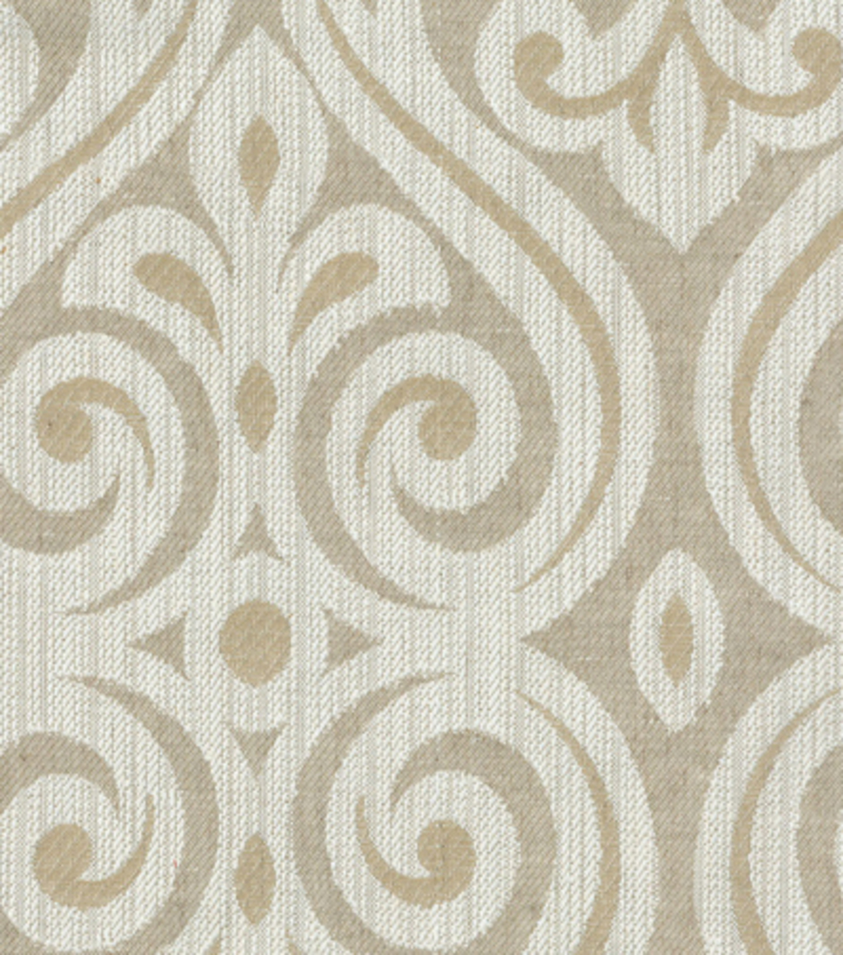"Home Decor 8""x8"" Fabric Swatch-HGTV HOME Magic Hour Pearl"