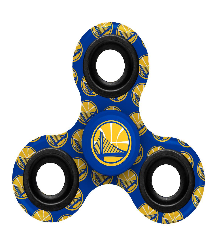 Golden State Warriors Diztracto Spinnerz Three Way Fidget Spinner