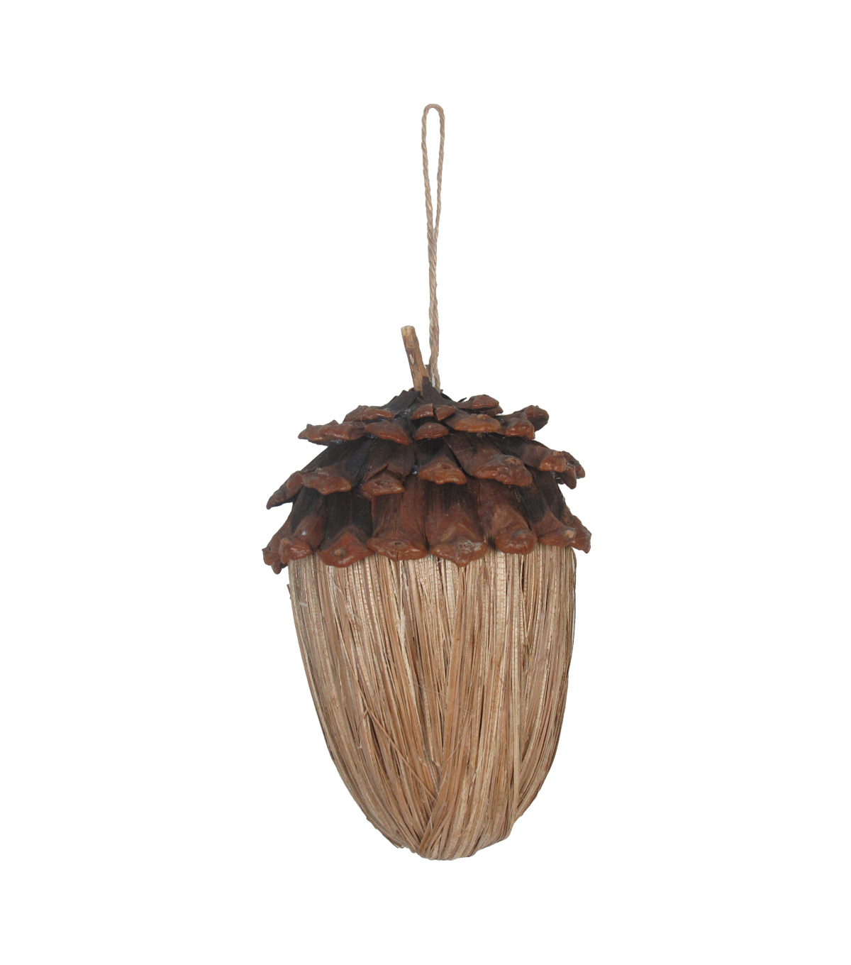Fall Into Color Hanging Acorn-Tan