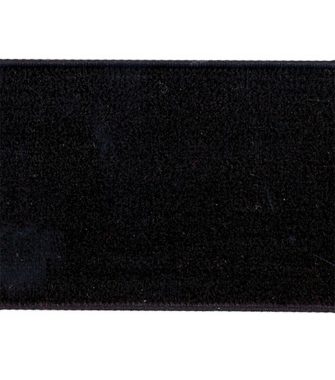 "Velvet Band 1-1/2"" Wide 10 Yards-Black"