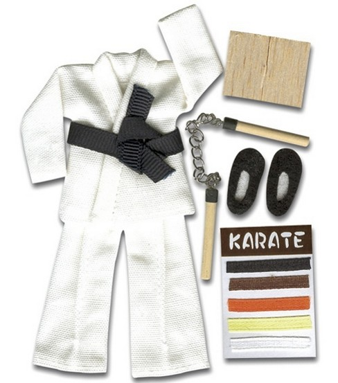 Jolee\u0027s Boutique Themed Ornate Stickers-Karate