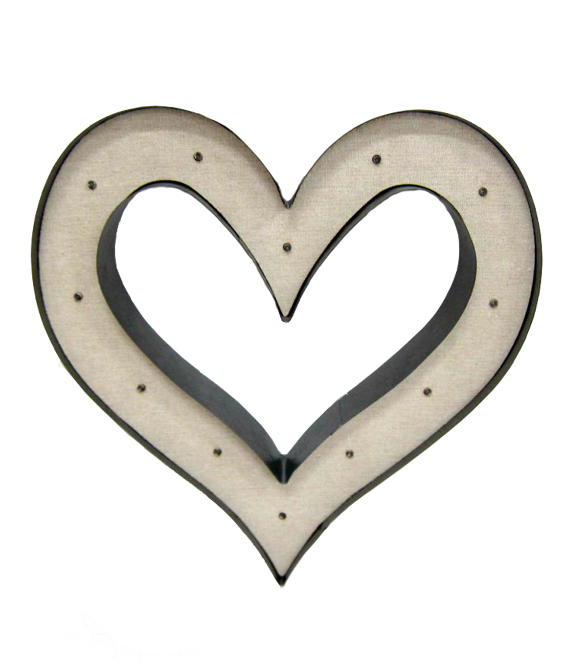 Save The Date™ LED Metal Heart Decor