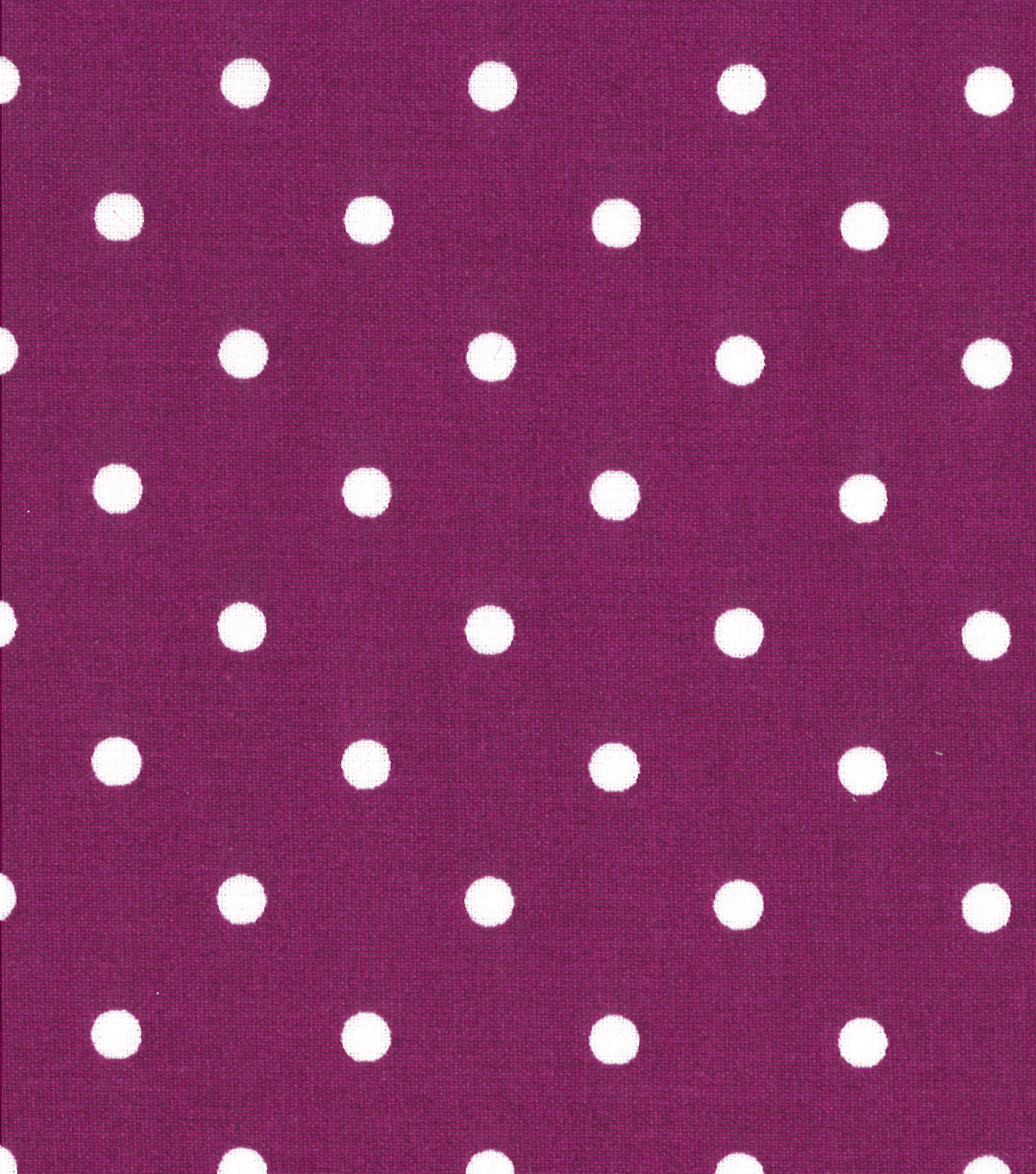 Quilter's Showcase™ Cotton Fabric-Dots Purple/White