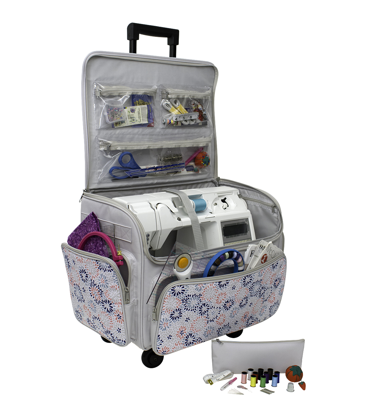 Sewing Room On Wheels with Bonus Set-Floral