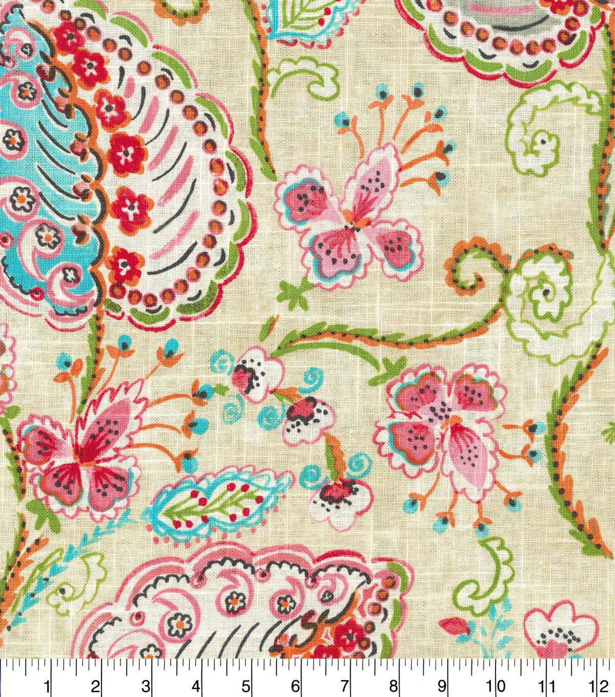 "Dena Designs Upholstery Fabric 54""-Flamingo Frolic Watermelon"