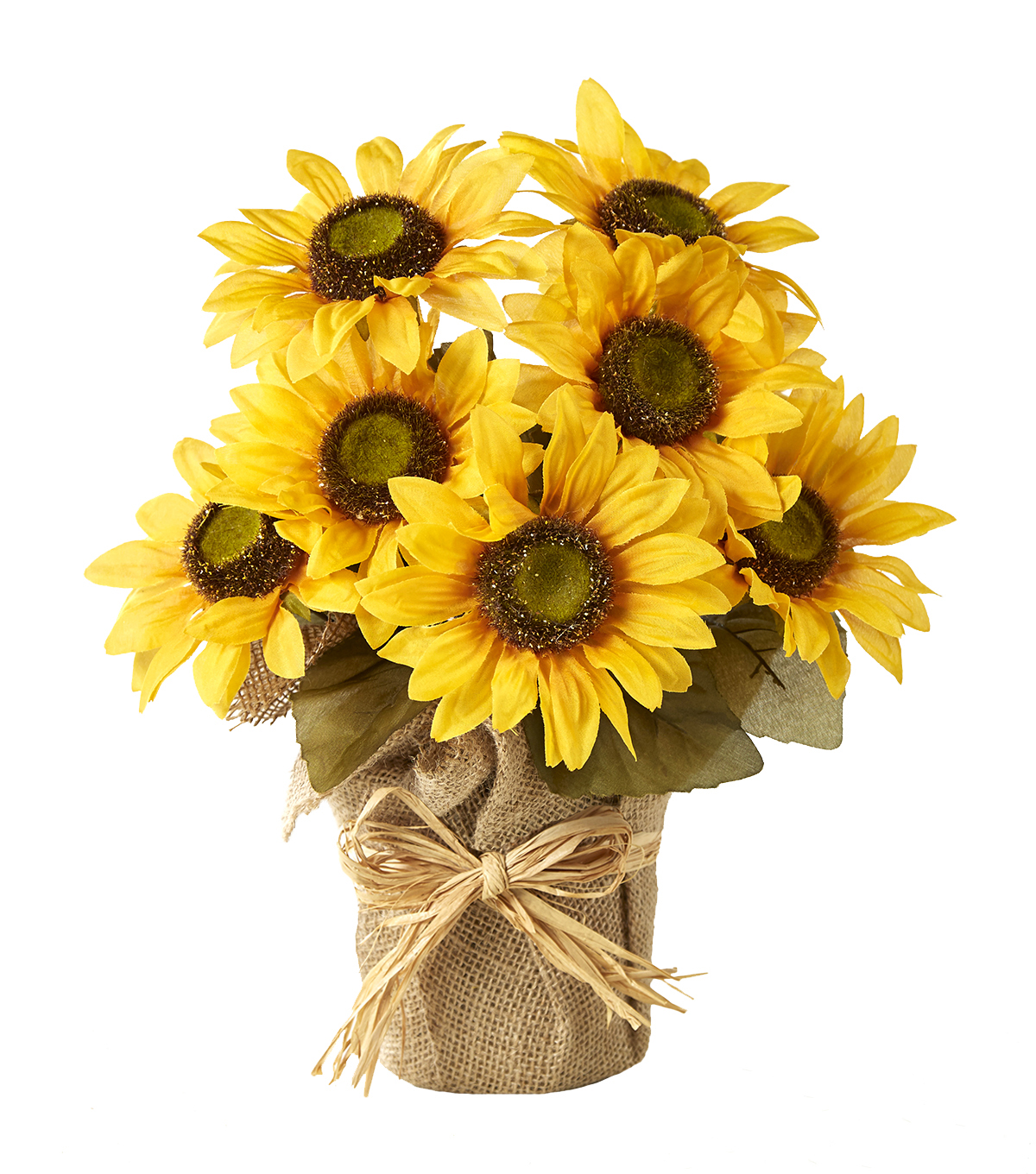 Blooming Autumn 13\u0027\u0027 Sunflower Potted-Yellow
