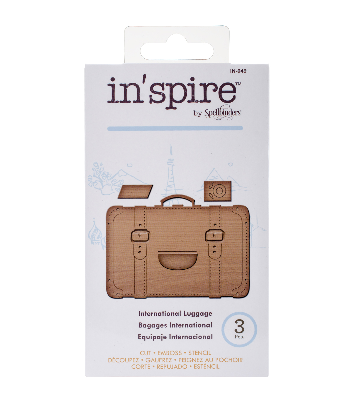 Spellbinders Shapeabilities In\u0027spire International Luggage Die