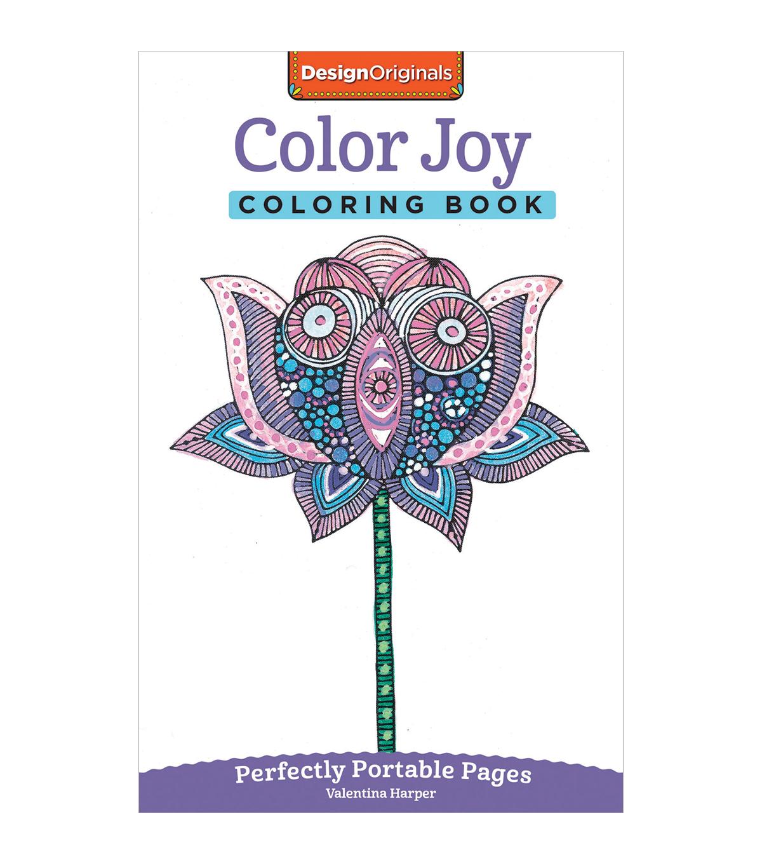 Adult Coloring Book Design Originals Color Joy