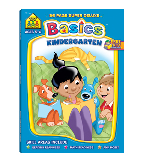 Super Deluxe Workbook-Kindergarten Basics