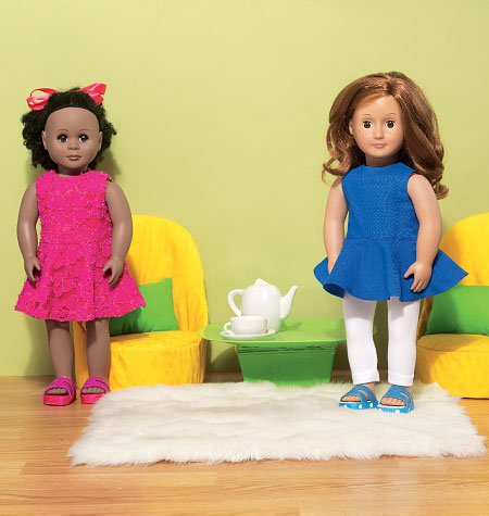 McCall\u0027s Crafts Doll Clothes-M7105