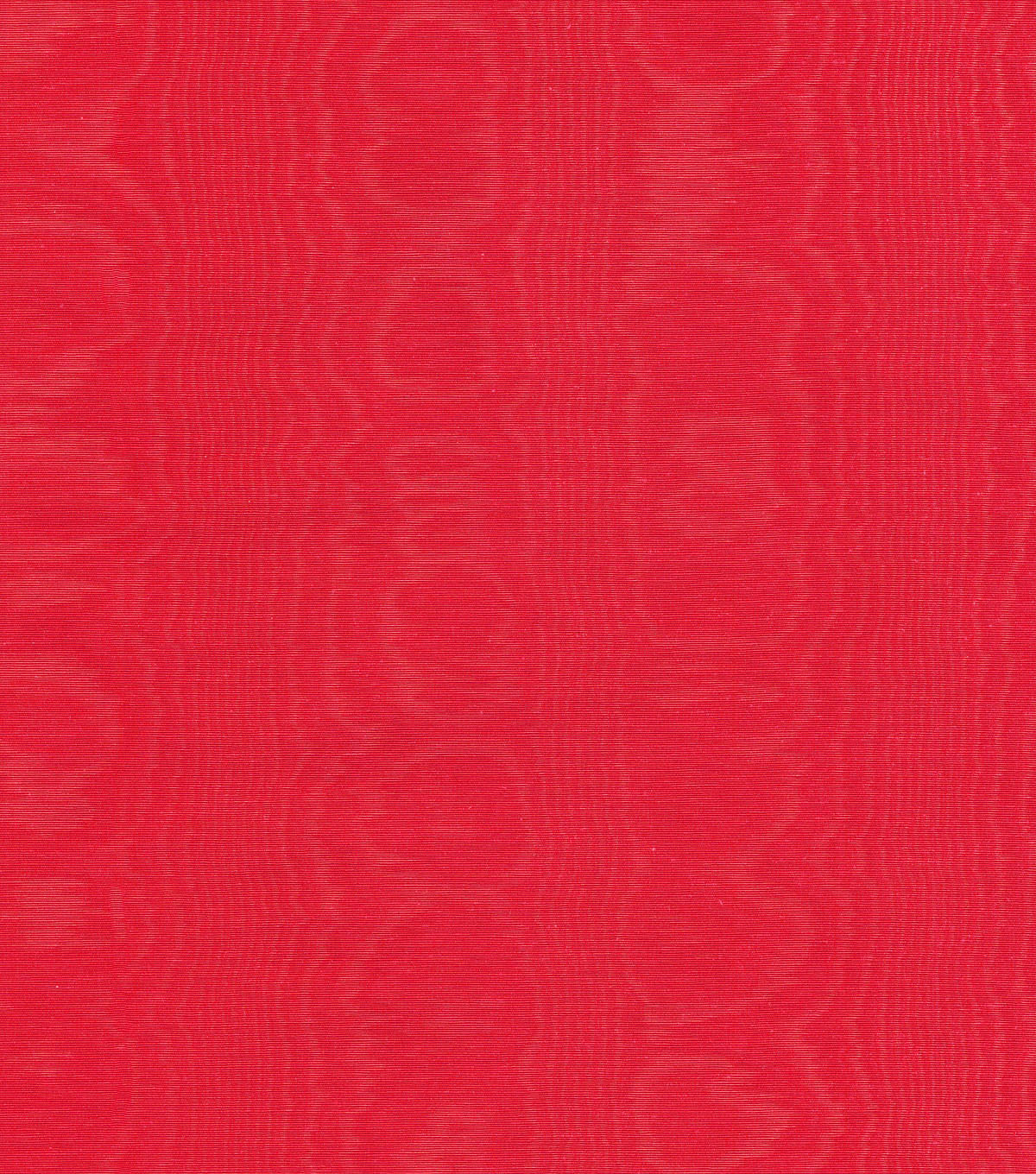 Williamsburg Solid Fabric 54\u0022-Palace Moire/Cinnabar