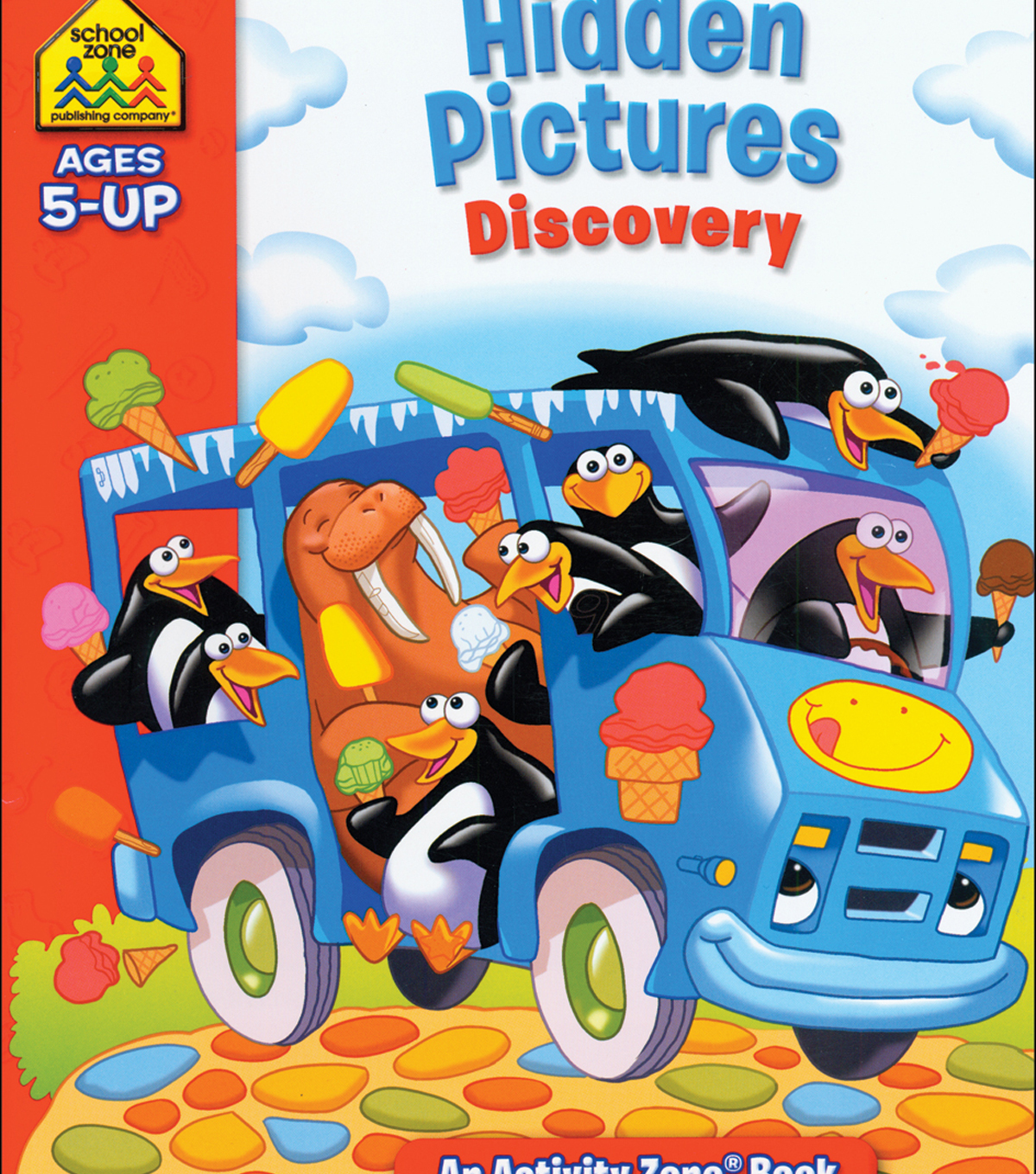 Activity Workbooks 32 Pages-Hidden Pictures Discovery Ages 5+