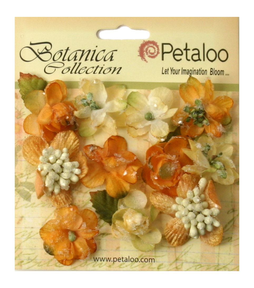 Petaloo Botanica Sugared Mini Blooms 1.25''