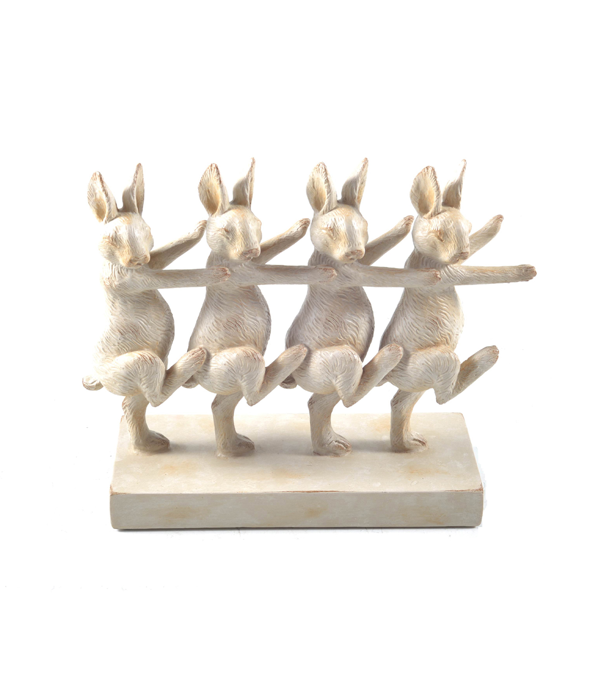 Dancing Easter Bunnies Table Top Decor