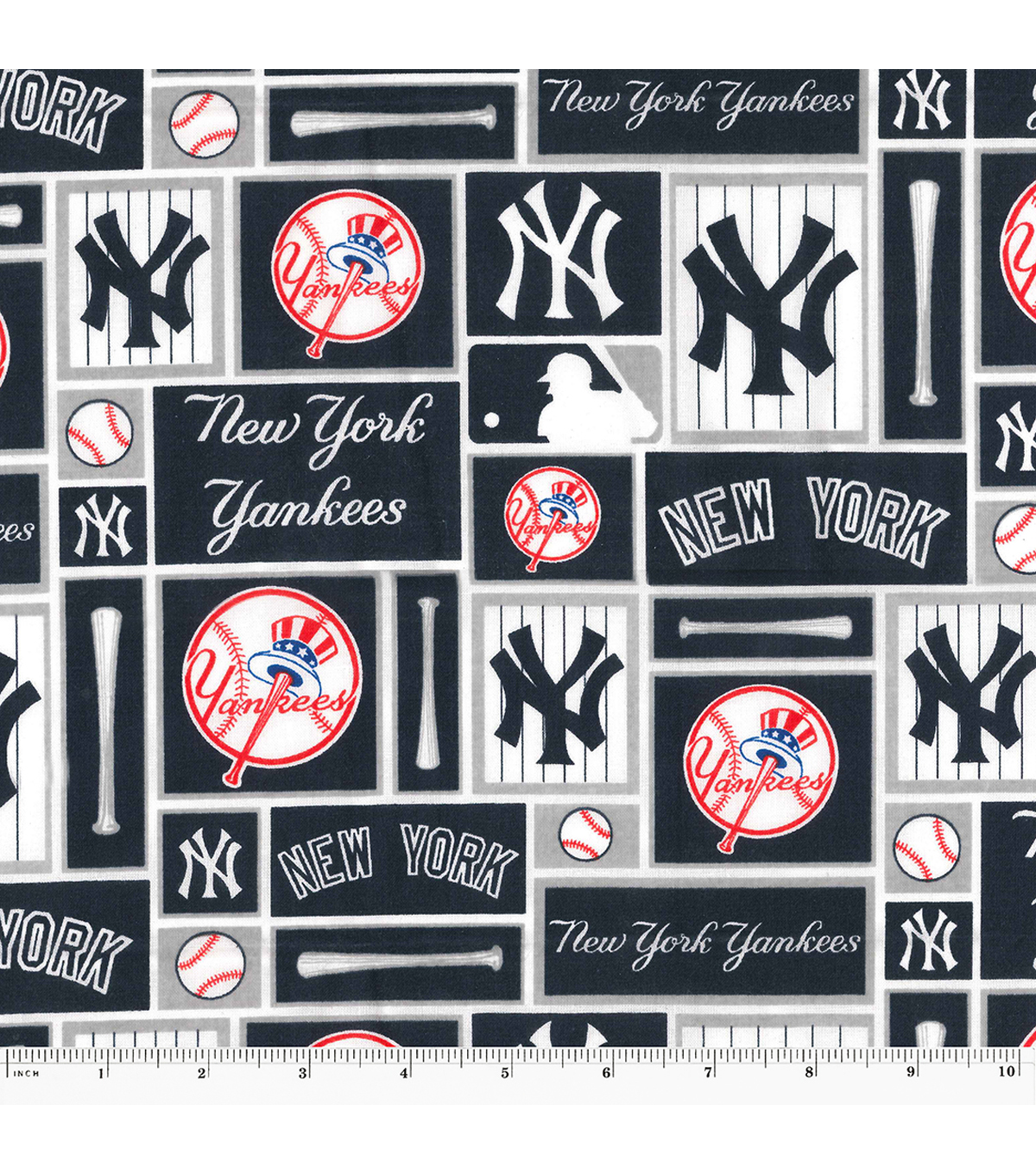 New york yankees cotton fabric 58 patch