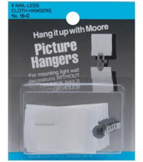 Darice 6 pk. Nailless Cloth Picture Hangers
