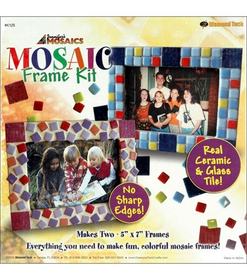 Stained Glass Mosaics Frame Kit