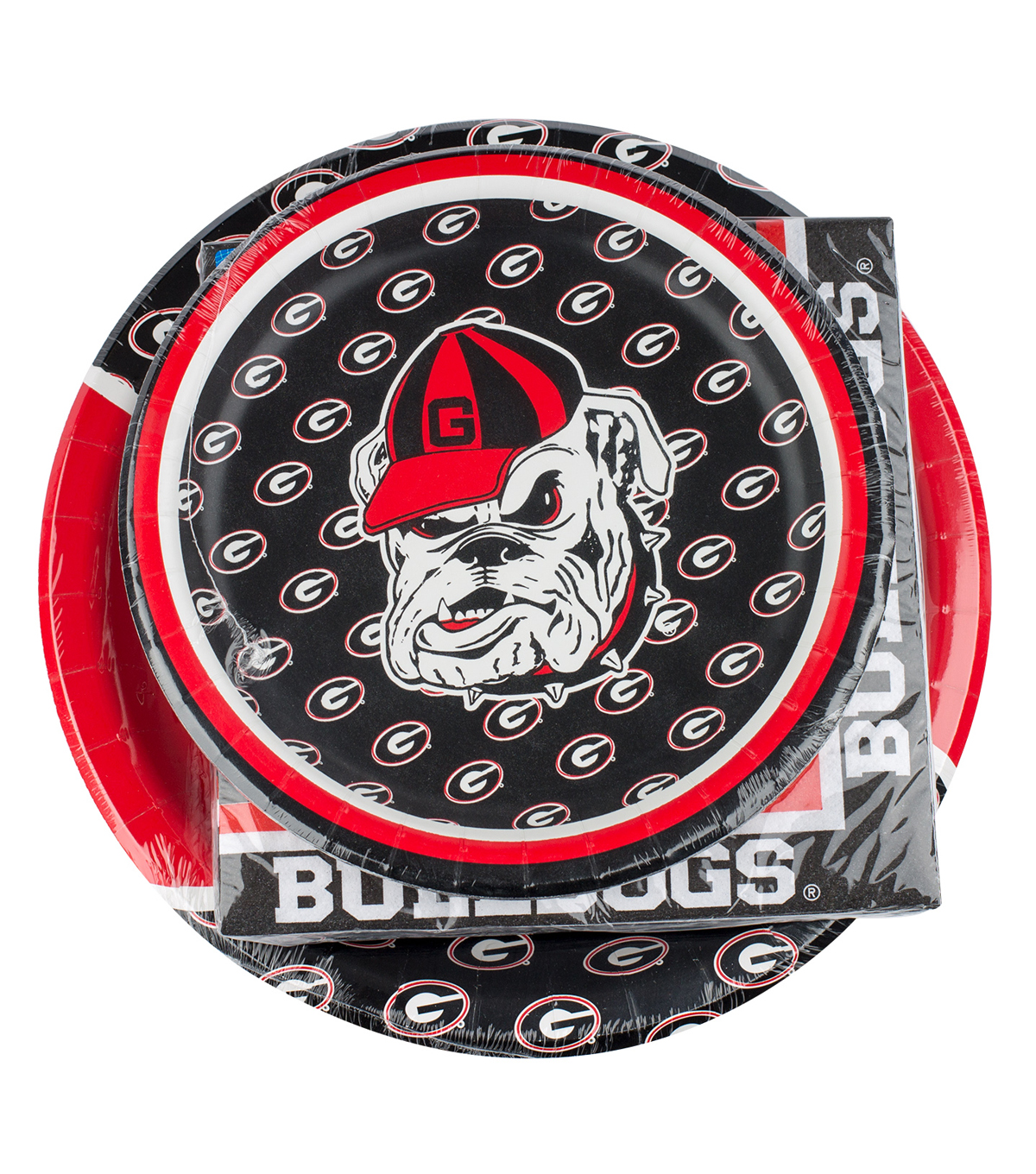 University of Georgia NCAA Plate & Napkin Set