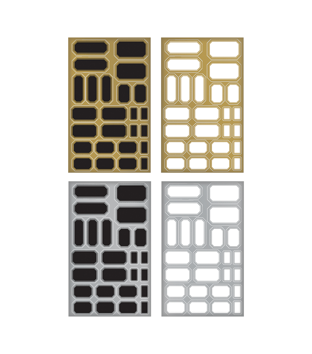 Tim Holtz Idea-ology Metallic Stickers Labels