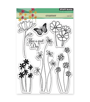 Penny Black Clear Stamps-Enamor