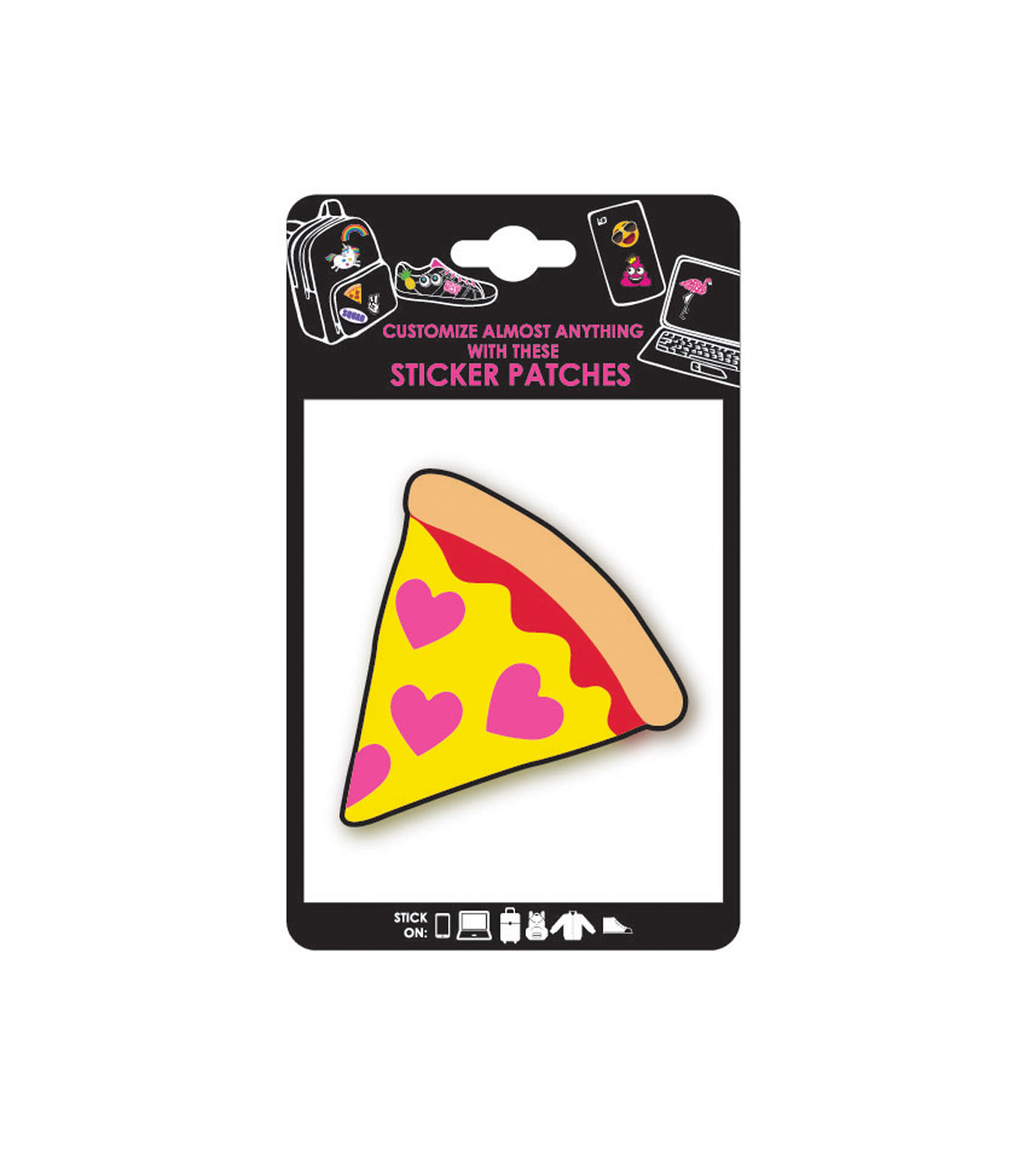 Pizza Adhesive Patch