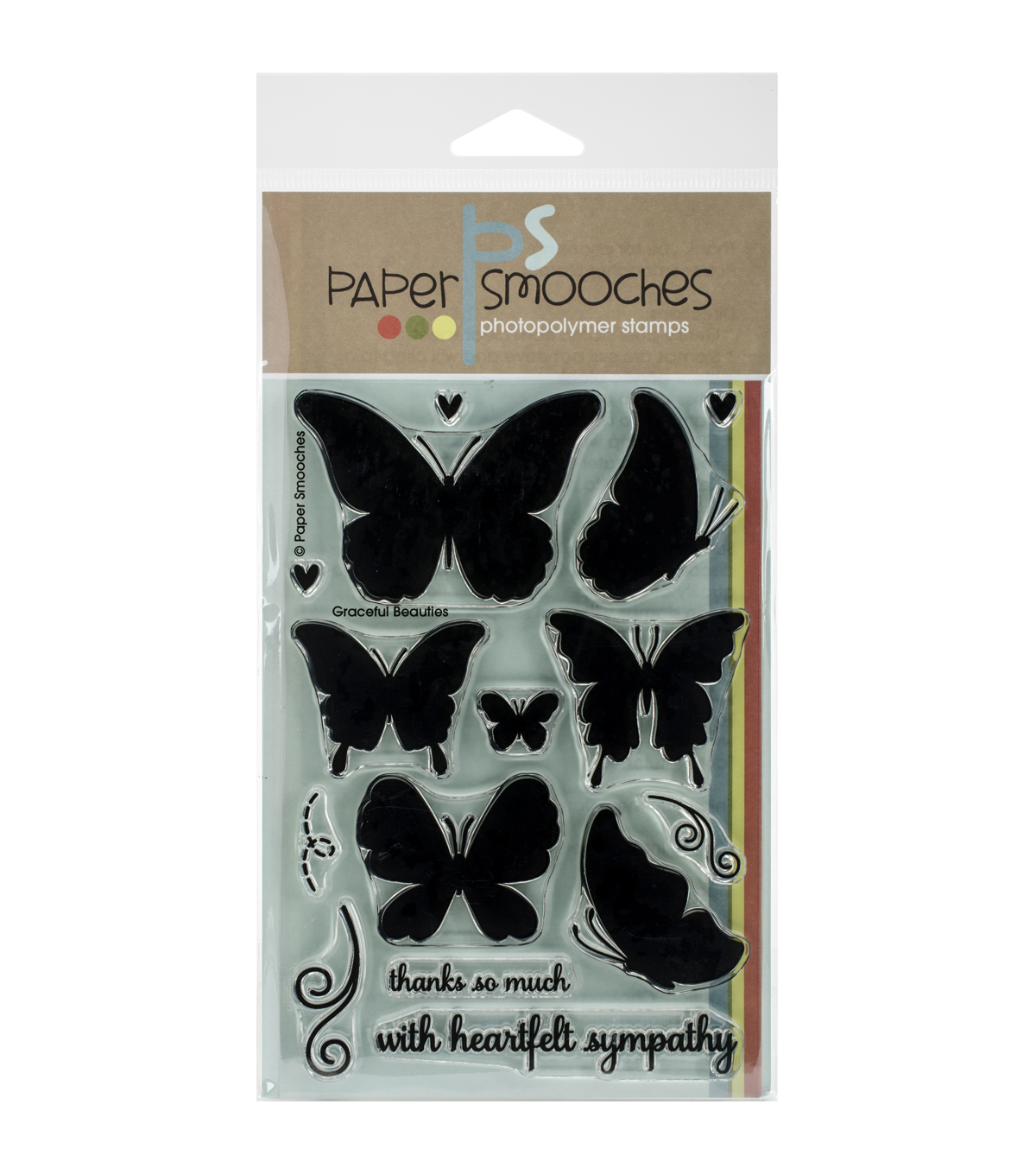 Paper Smooches Graceful Beauties Clear Stamps