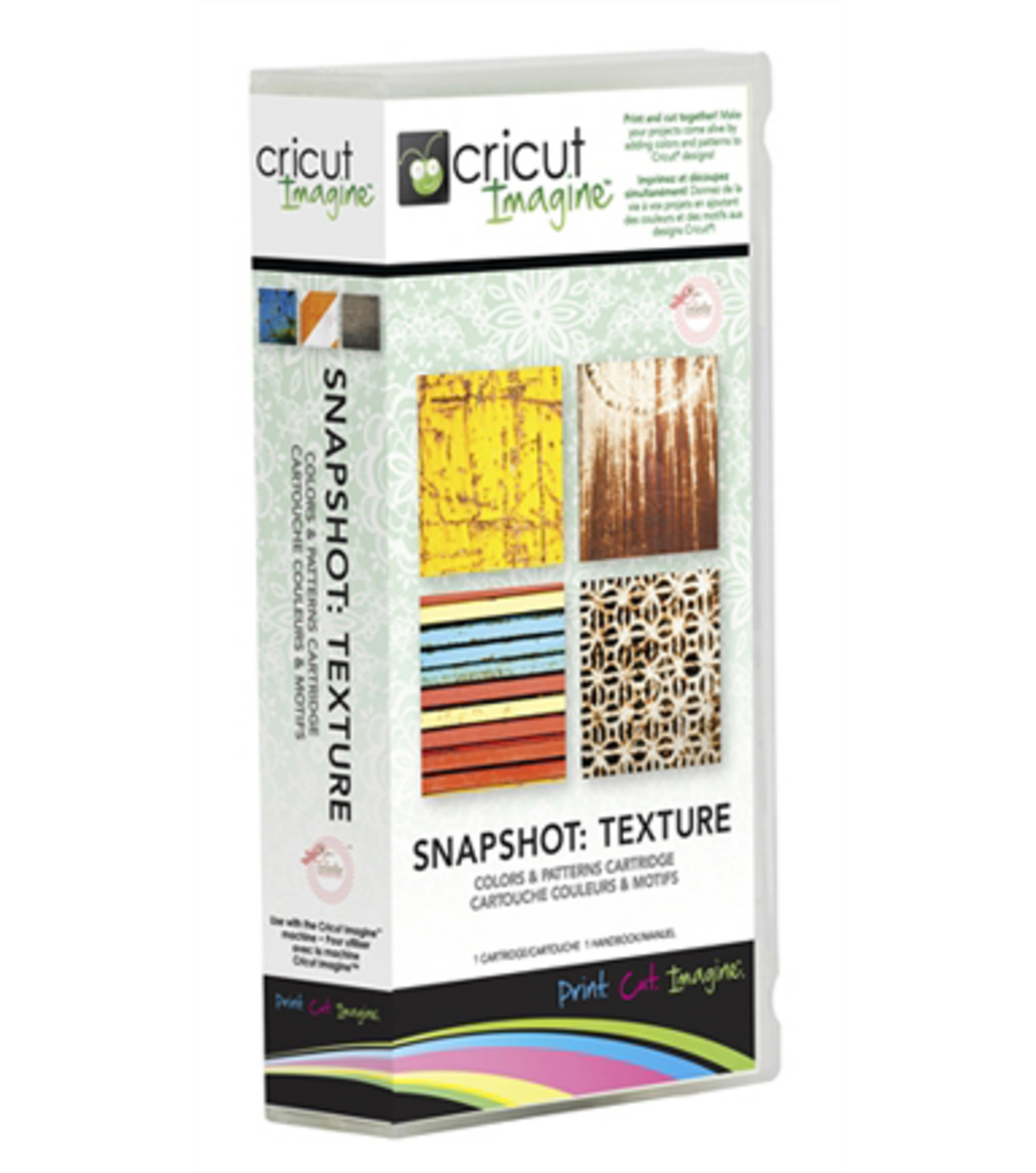 Cricut® Imagine Colors & Patterns Cartridge-Texture