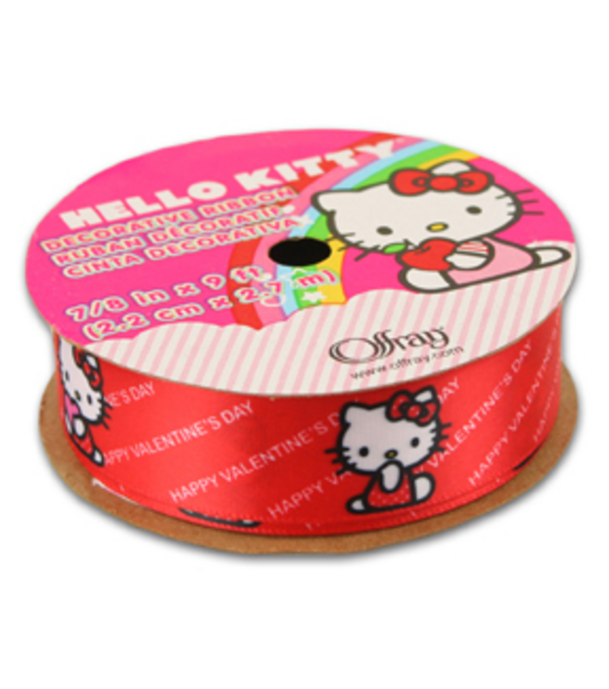 hello kitty valentines ribbon happy valentines day