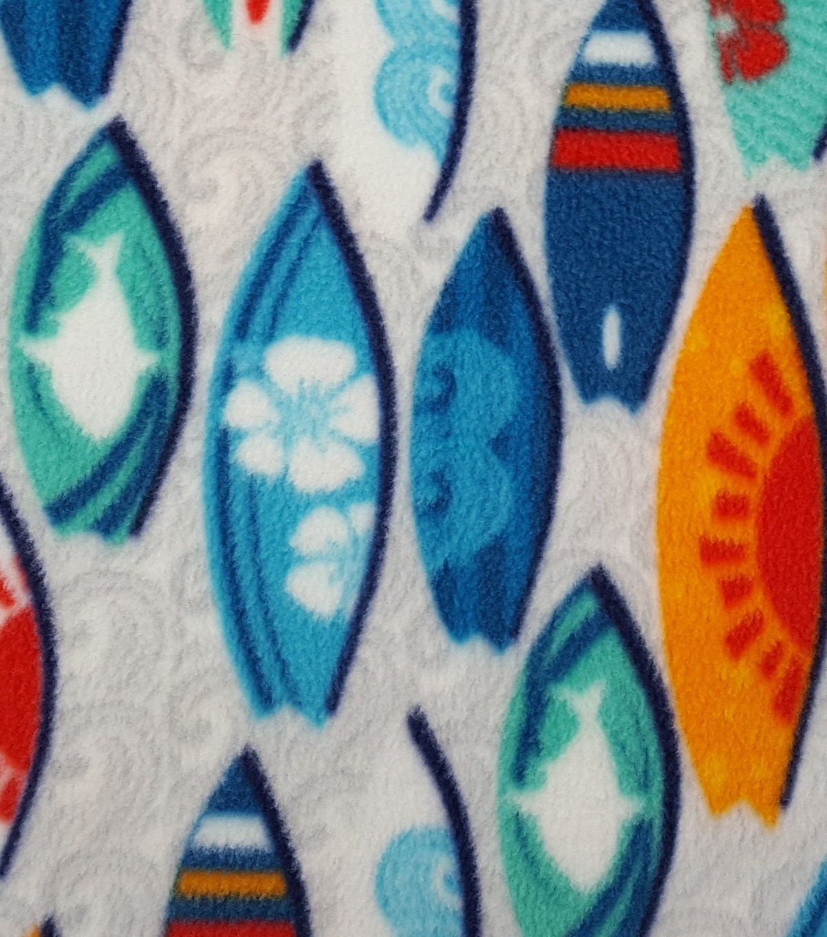 "Anti-Pill Fleece Fabric 59""-Cool Surfboards"