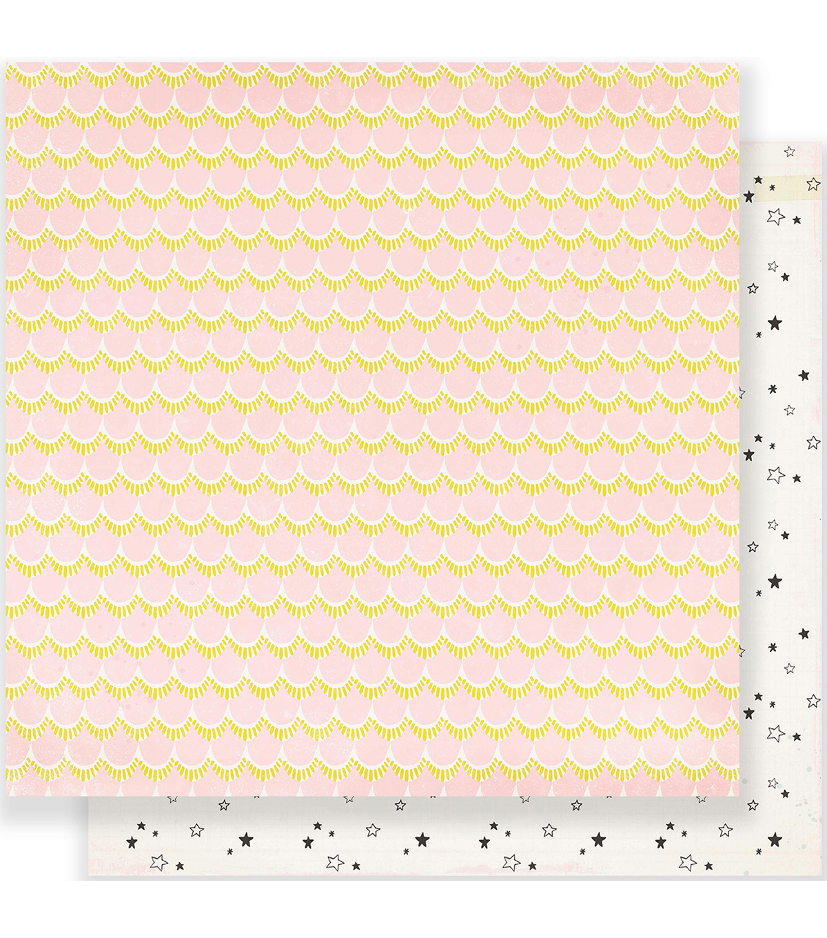 Maggie Holmes Carousel Double-Sided Cardstock 12\u0022X12\u0022-Starbright