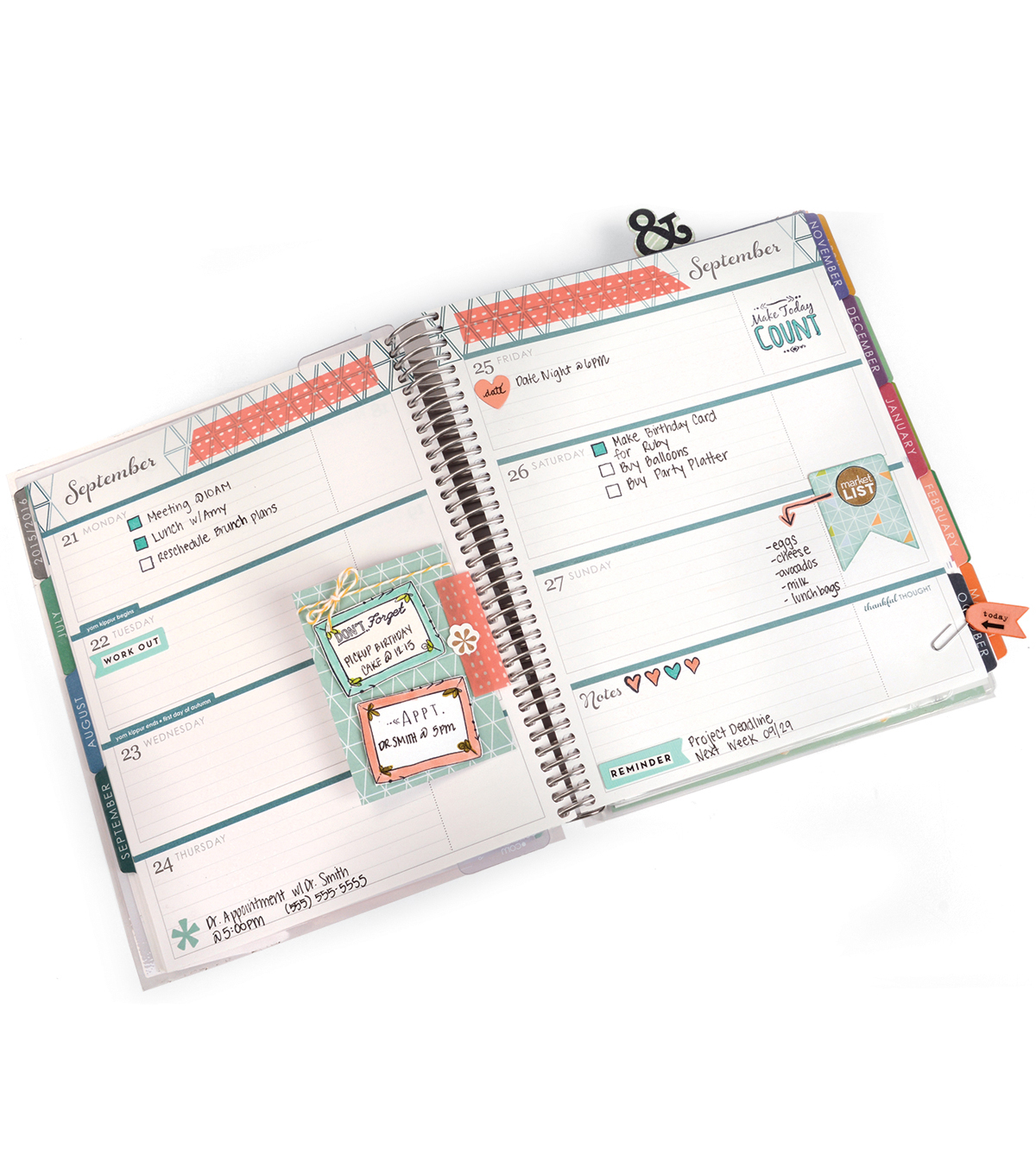 Sizzix® Framelits™ Dies with Stamps-Make Today Count