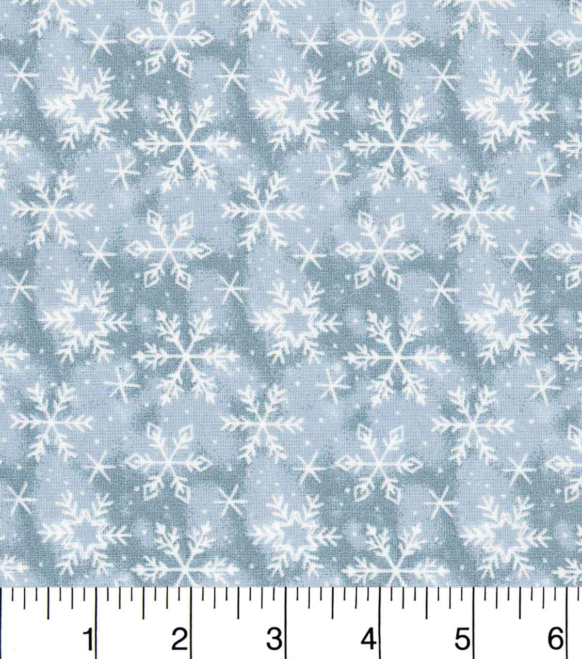 Keepsake Calico™ Holiday Cotton Fabric 43\u0022-Blue Snowflake