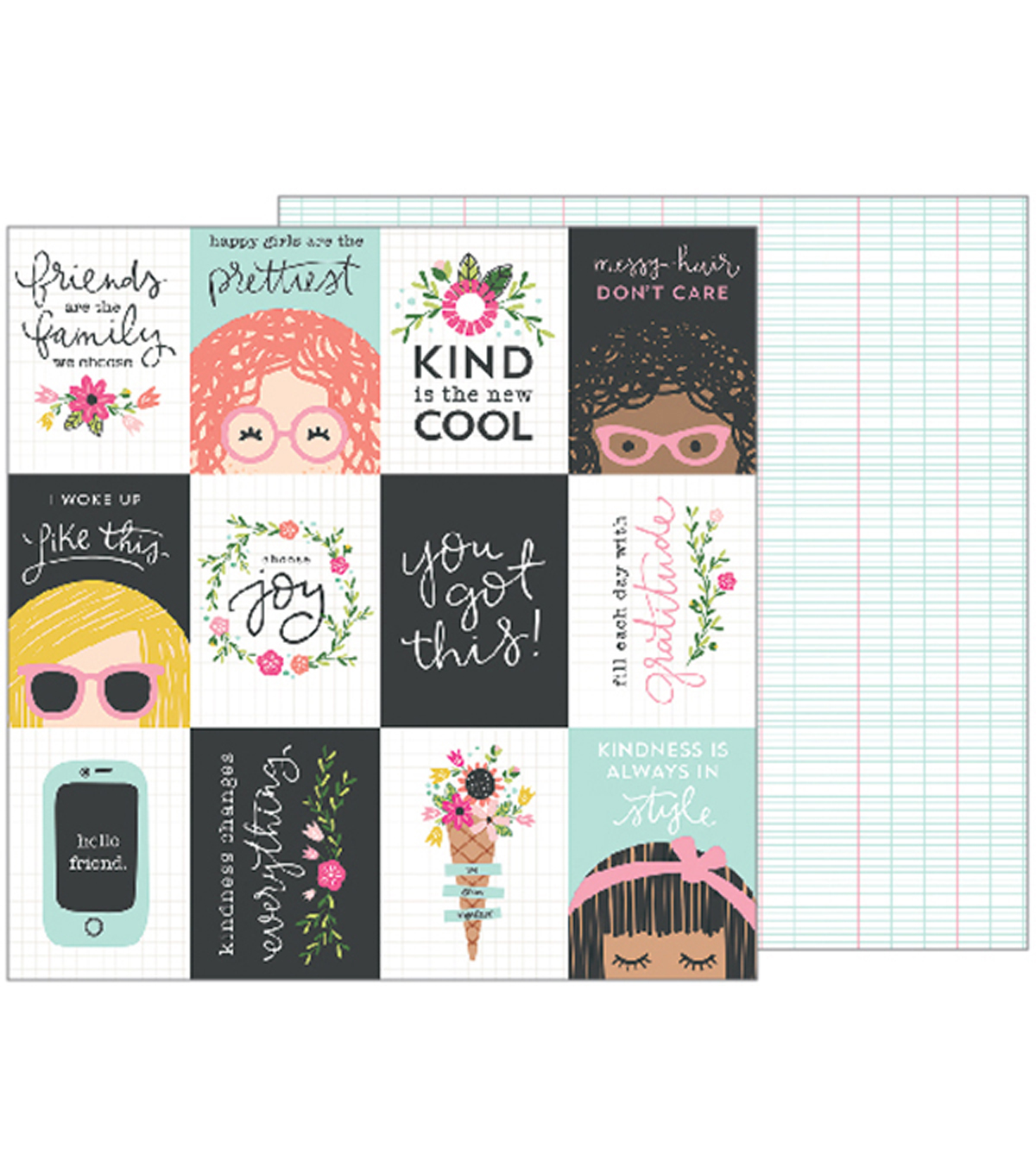 Girl Squad Double-Sided Cardstock 12\u0022X12\u0022-You Got This