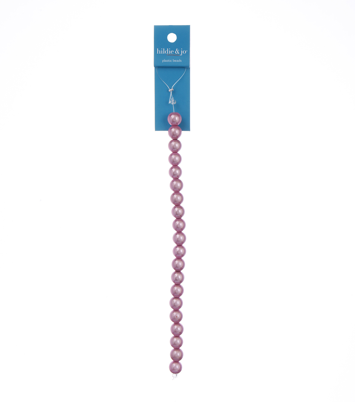 Blue Moon Beads Strand 7\u0022 Plastic Round Miracle Beads, Pink