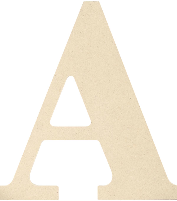 Fancy Wooden Alphabet Letters