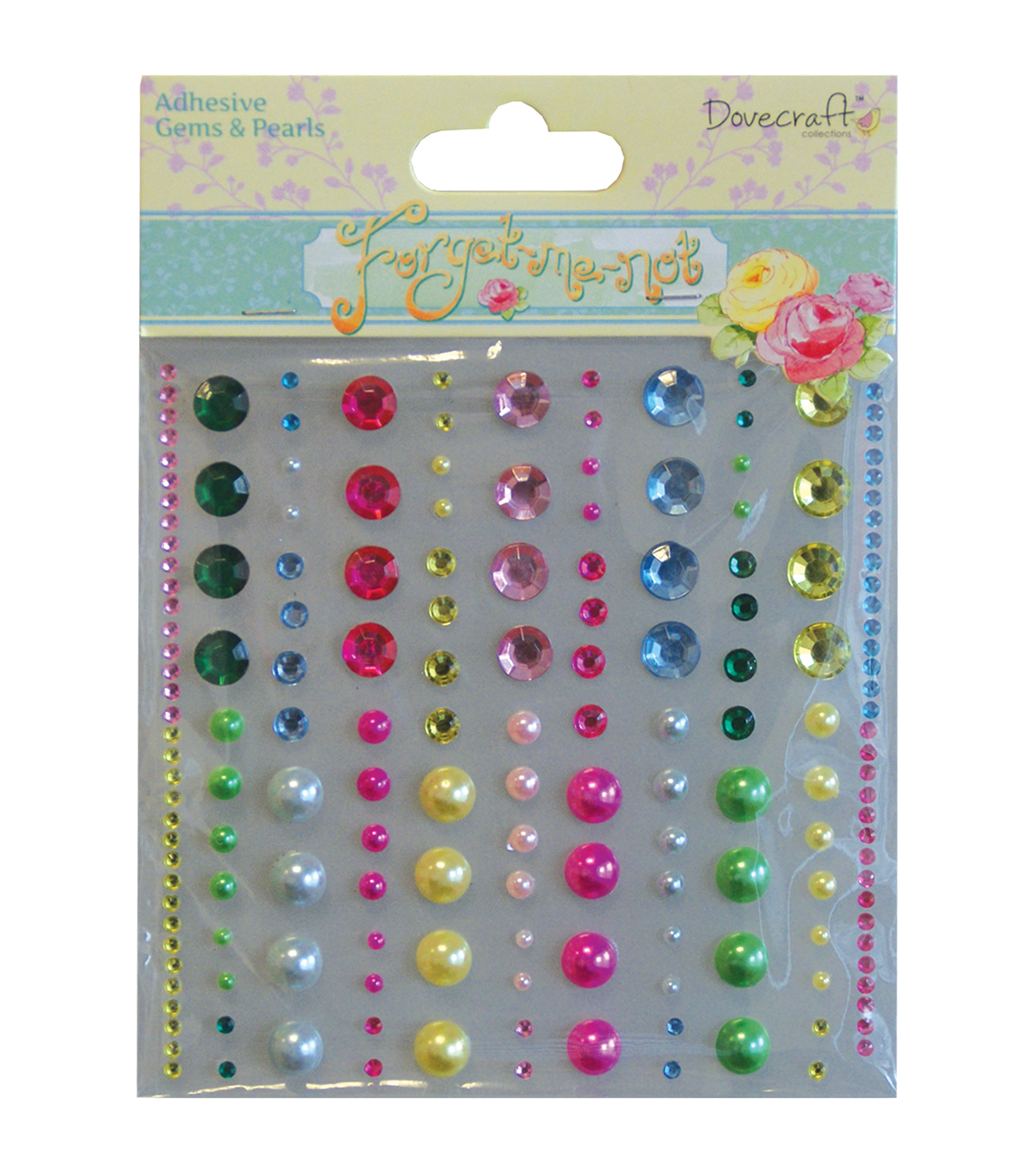 Forget-Me-Not Topper Shapes-