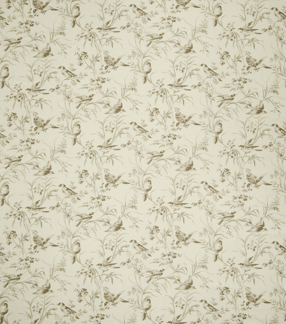 "French General Upholstery Fabric 54""-Bird Rot/Bisque"