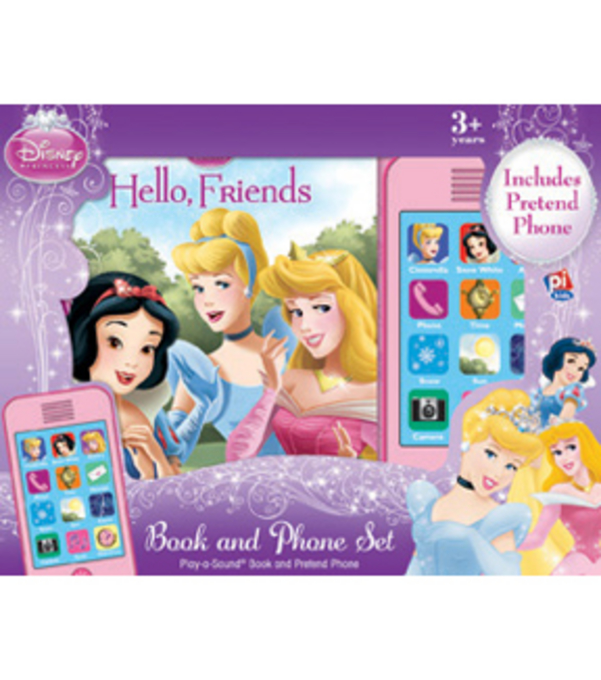 Disney® Princess Book & Phone Set