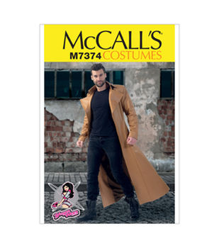 McCall\u0027s Pattern M7374-Collared and Seamed Coats