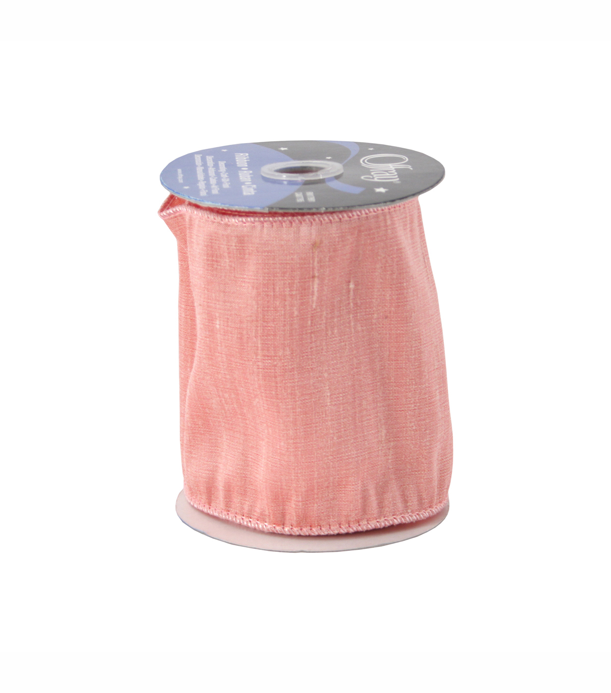 Offray 4in Luxury Ribbon - Pink