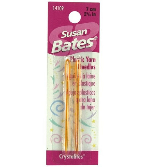 Susan Bates Crystalites Yarn Needles