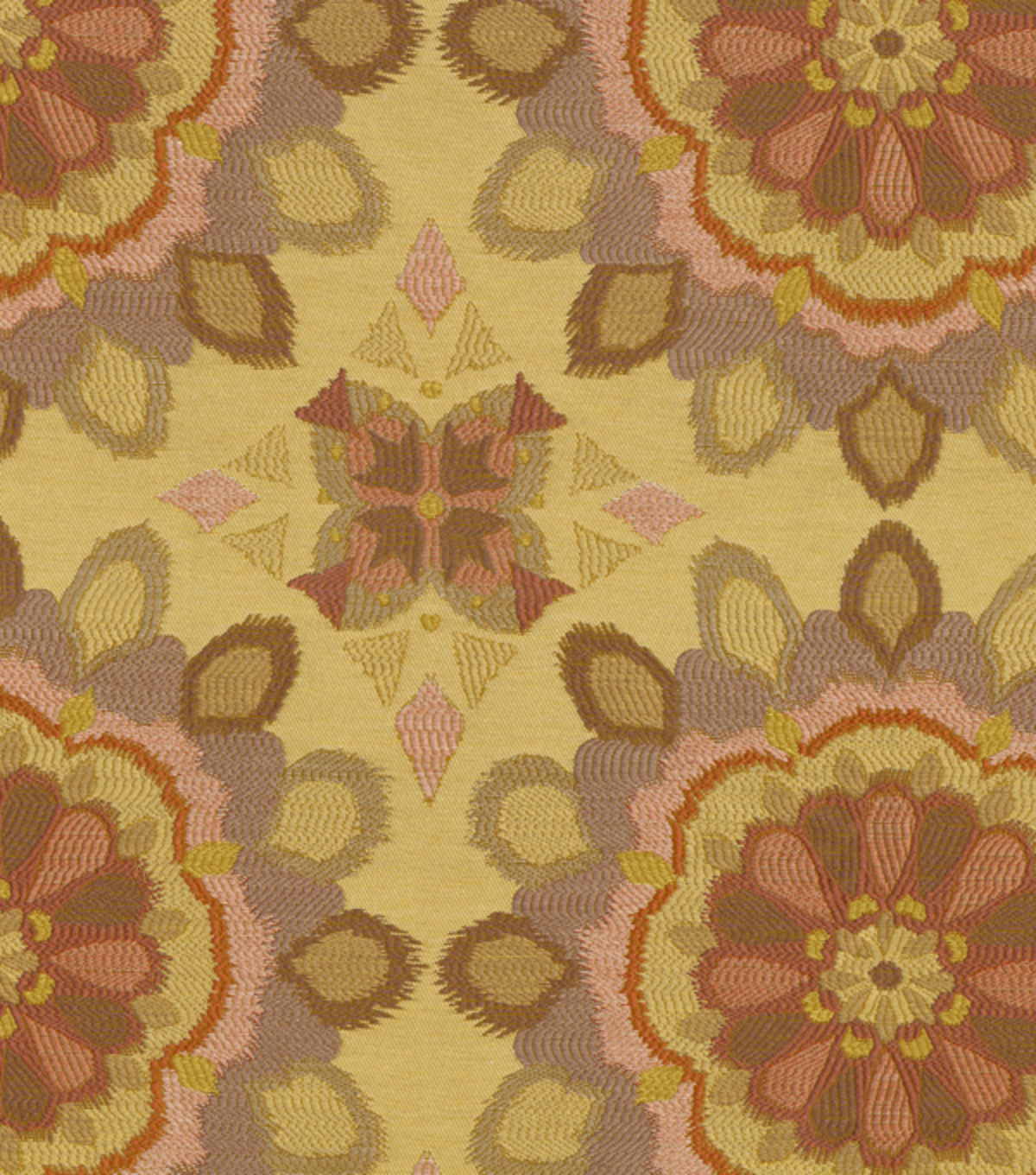 "Waverly Upholstery Fabric 58""-Spellbound/Mulberry"