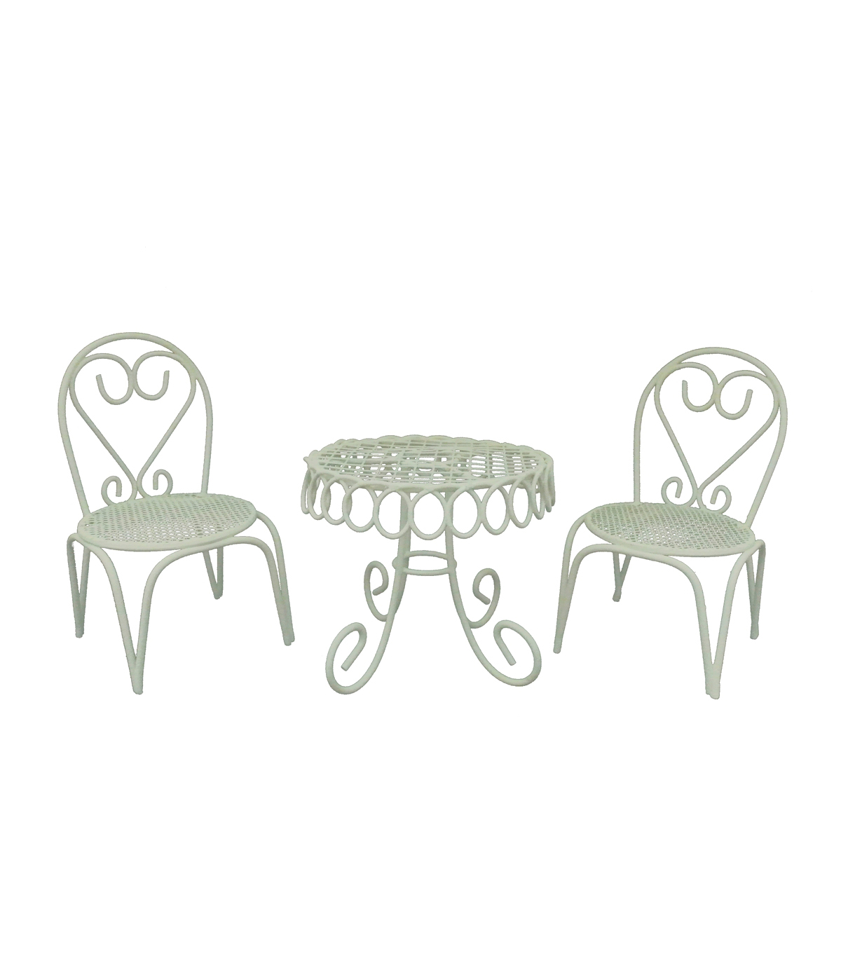 Bloom Room Littles Pack of 3 Iron Furniture Set