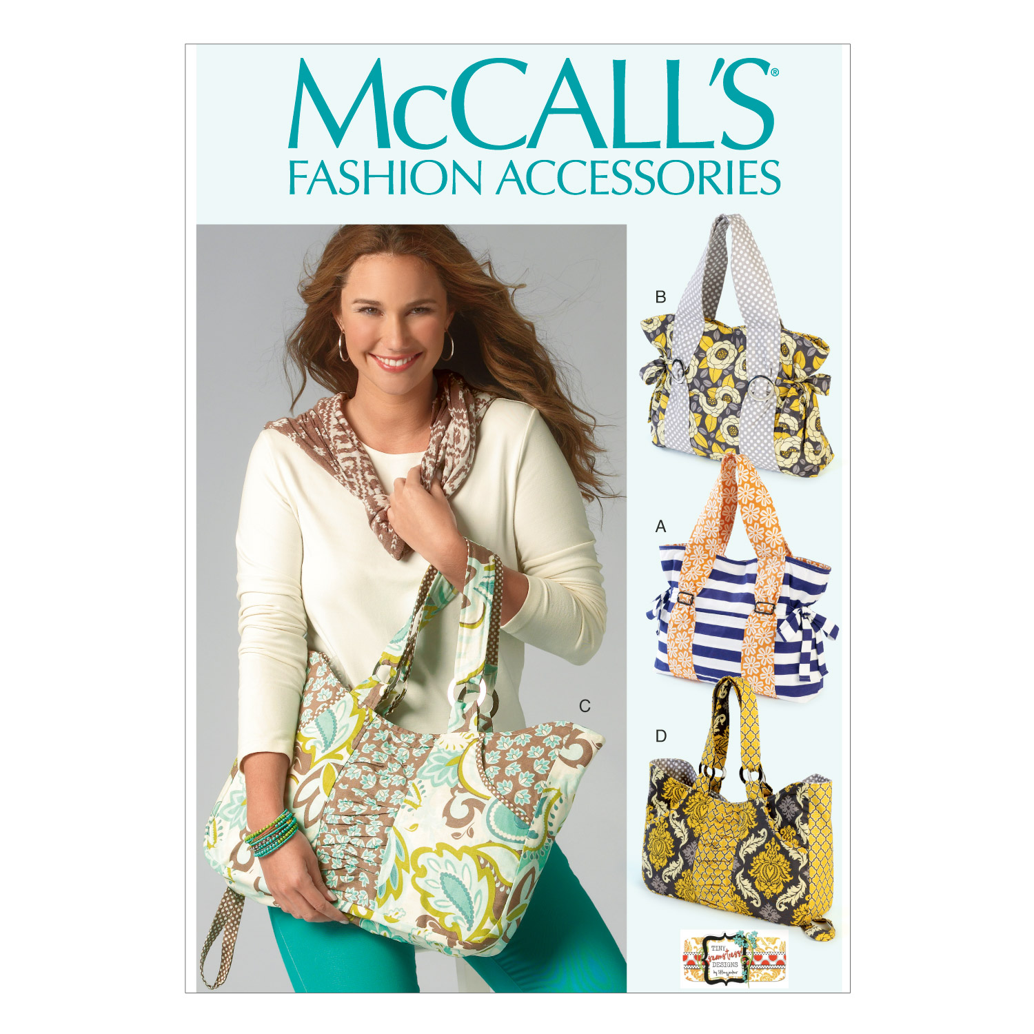 McCall's Crafts Totes & Bags-M6905