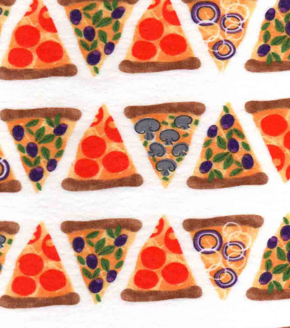 Snuggle Flannel Fabric 42''-Pizza Slices