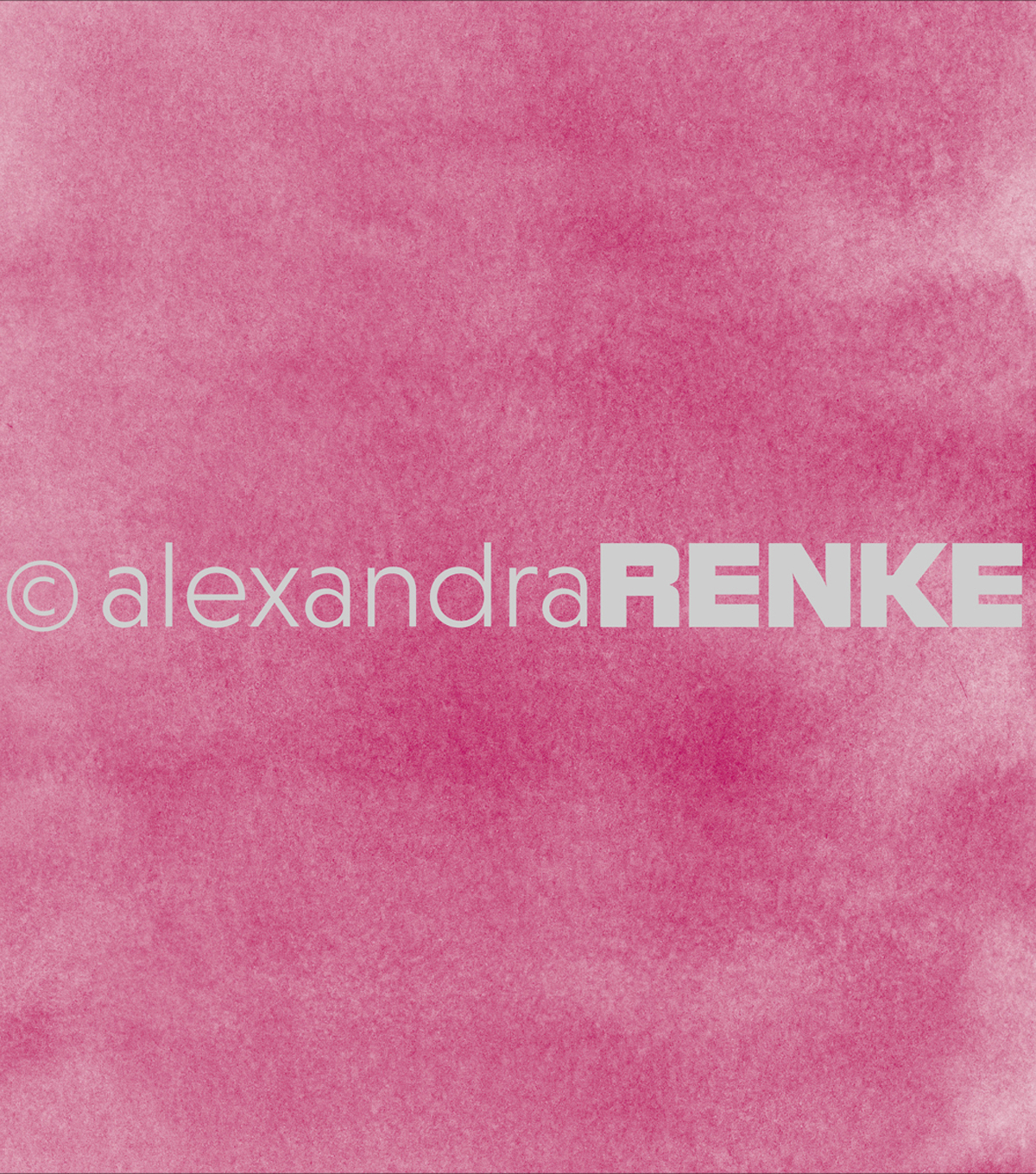 "Alexandra Renke Mimi's Basic Design Paper 12""X12""-Dark Pink Watercolor"
