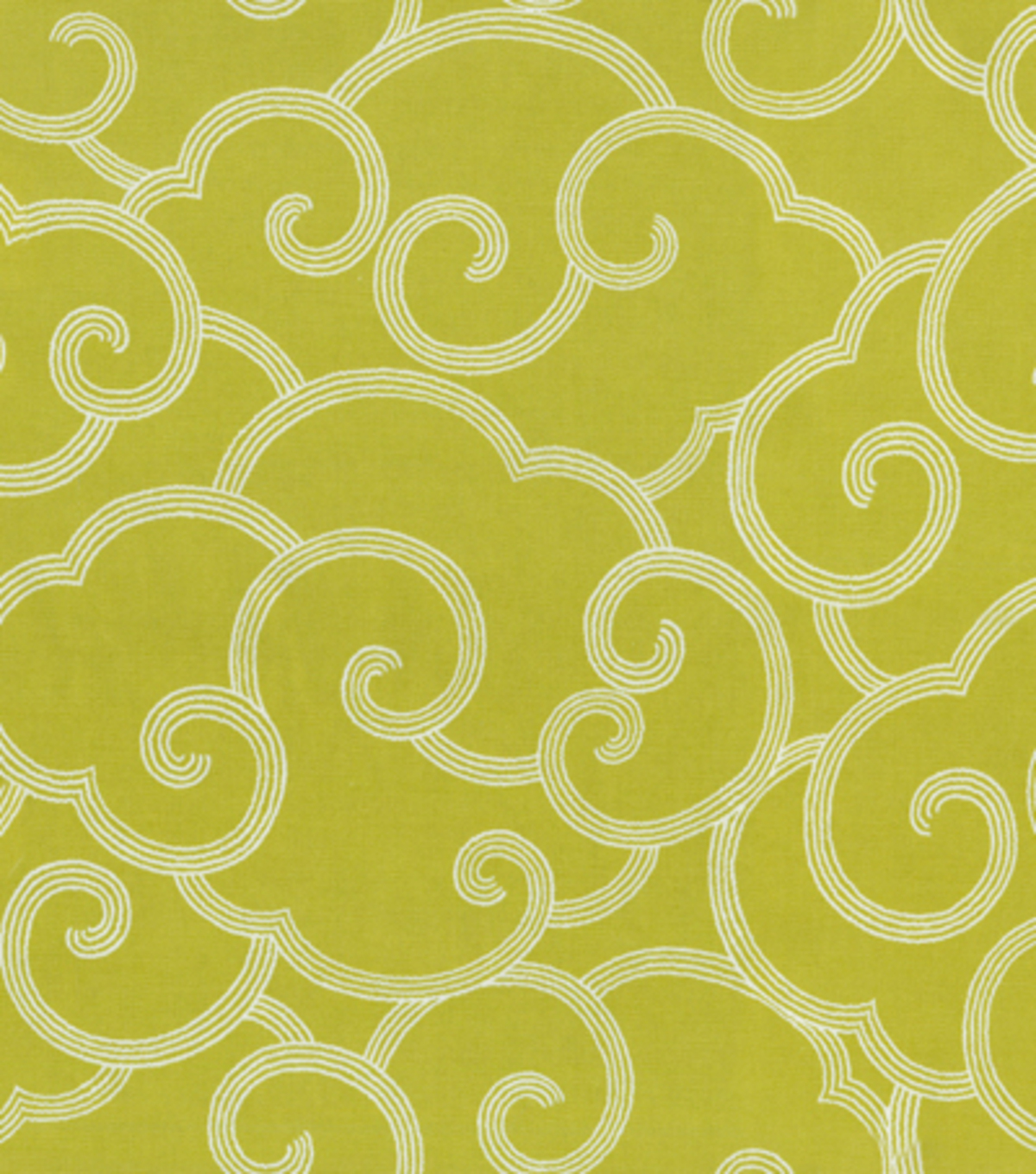"Home Decor 8""x8"" Fabric Swatch-Waverly Clouded/Citrine"